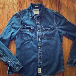 Abercrombie & Fitch men's denim shirt